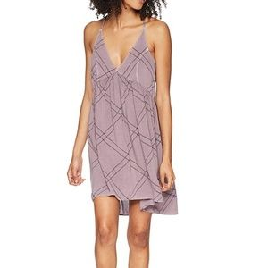 Womens O'Neill V Neck Baby Doll Dress Size S